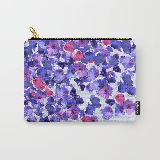 In the land of grey and pink Carry-All Pouch