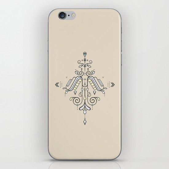TIOH THREE iPhone & iPod Skin