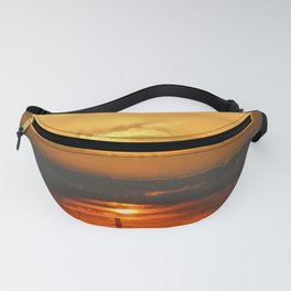 Sunset Horizon Fanny Pack