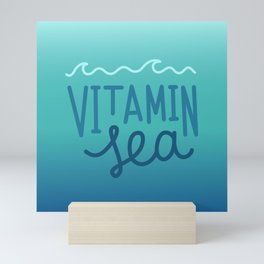 Vitamin sea Mini Art Print