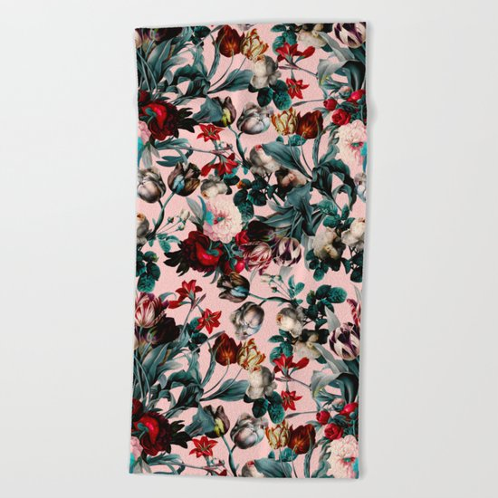 SUMMER BOTANICAL XI Beach Towel