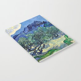Vincent Van Gogh - Olive Trees Notebook