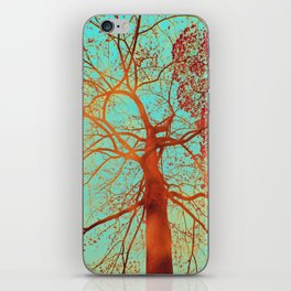 Swinging tree iPhone Skin