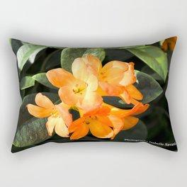 tropicals flowers Rectangular Pillow