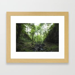 Drop of rain Framed Art Print
