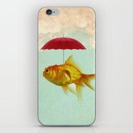 under cover goldfish 02 iPhone Skin
