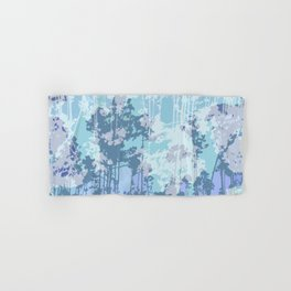 Cold Winter Forest Pattern Hand & Bath Towel