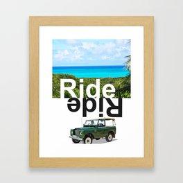 RIDE ISLAND BAHAMAS Framed Art Print
