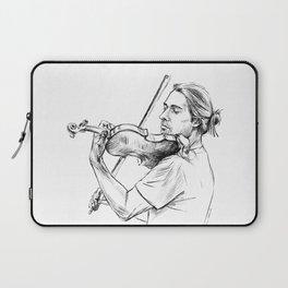 Violinist plays music Laptop Sleeve