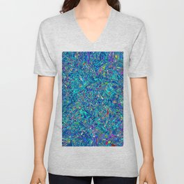 Abstract RR QQS Unisex V-Neck