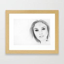 Vanessa Hudgens Framed Art Print