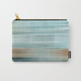 Life (Aqua and Burnt Rose) Carry-All Pouch