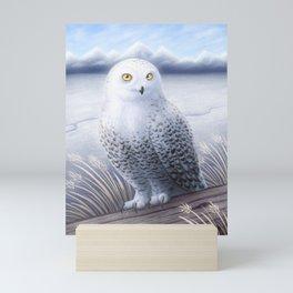 Snowy Owl Mini Art Print