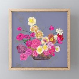 The arrangement Framed Mini Art Print