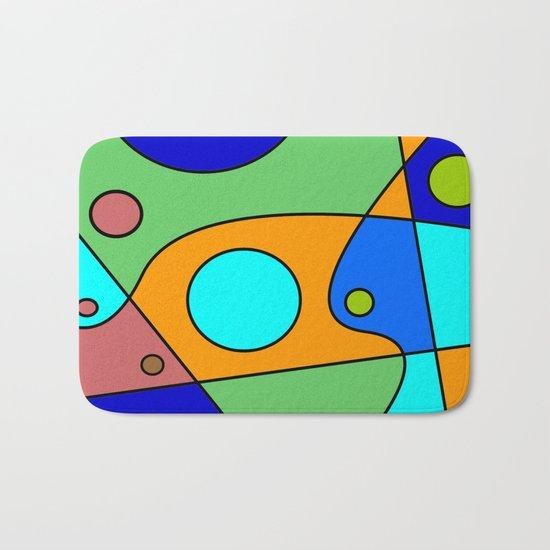 Abstract #72 Bath Mat