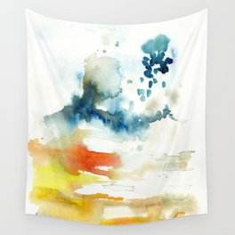 Ominous Silence Wall Tapestry