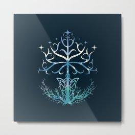 Lightful Tree Metal Print