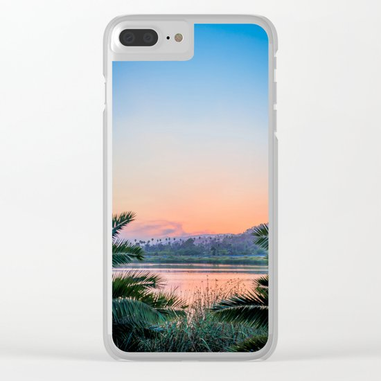 Santa Barbara Clear iPhone Case