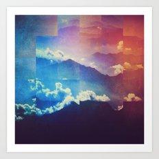 Fractions A99 Art Print