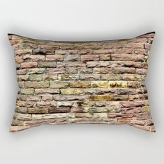 Pink bricks Rectangular Pillow