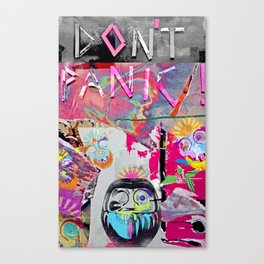 Systematic 'No Panic' Canvas Print
