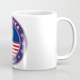 Nebraska, Nebraska t-shirt, Nebraska sticker, Nebraska Poster Coffee Mug