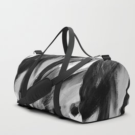 Abstract Artwork Greyscale #1 Duffle Bag