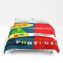 Portugal Fun in the Sun Travel Comforters