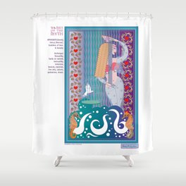 Women of the Myth Series: Aphrodite-Venus Shower Curtain
