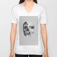death V-neck T-shirts featuring Life & Death. by David