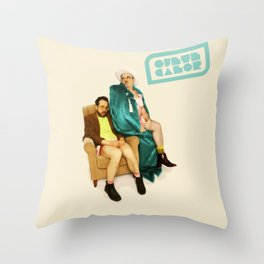 Ojete Calor Throw Pillow