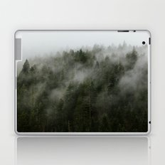 Pacific Northwest Foggy Forest Laptop & iPad Skin