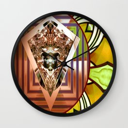 Electrifying Ressurection Wall Clock