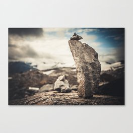 STONE PILAR Canvas Print