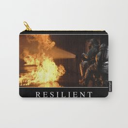 Resilient: Inspirational Quote and Motivational Poster Carry-All Pouch