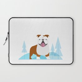 Bowser at the park Laptop Sleeve