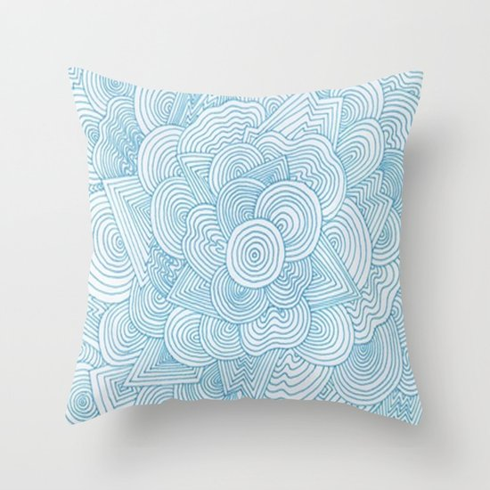 Throw Pillow Doodle : Doodle #1 Throw Pillow by Haleyivers Society6