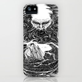 Blow till thou burst thy wind iPhone Case