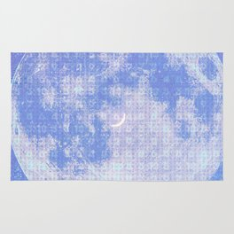 Magick Square Moon Invocation Rug