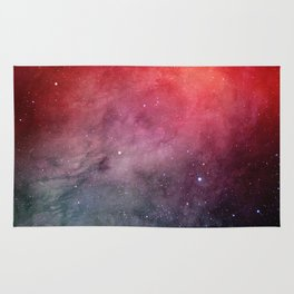 Red space Rug