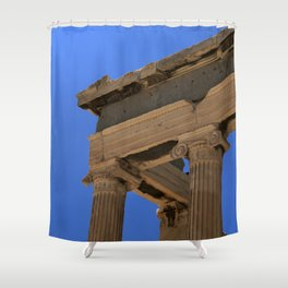 Athens XVII Shower Curtain