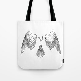 arise from ashes Tote Bag