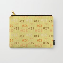 "Christian Prophetic Worship ""HIS"" Carry-All Pouch"