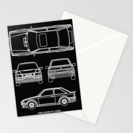 Escort RS Turbo Stationery Cards