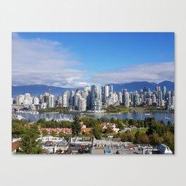 vancouver canada Canvas Print