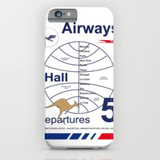 Airport and Airways Vintage Decoration Print Posters iPhone 6s Slim Case