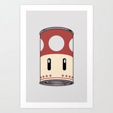 cream of mushroom super. Art Print