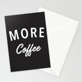 More Coffee Stationery Cards