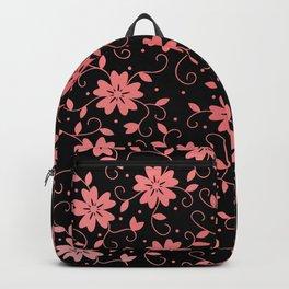 Five Petals Flowers 8 Backpack