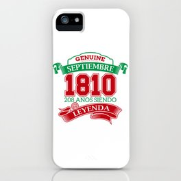 Leyend of 1810 iPhone Case